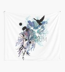 EXPECTO PATRONUM HEDWIG WATERCOLOUR Wall Tapestry