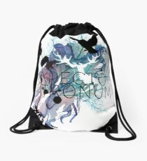EXPECTO PATRONUM HEDWIG WATERCOLOUR Drawstring Bag