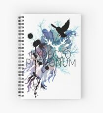 EXPECTO PATRONUM HEDWIG WATERCOLOUR Spiral Notebook