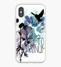 EXPECTO PATRONUM HEDWIG WATERCOLOUR 2 iPhone Case