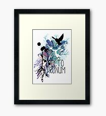 EXPECTO PATRONUM HEDWIG WATERCOLOUR 2 Framed Print