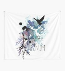 EXPECTO PATRONUM HEDWIG WATERCOLOUR 2 Wall Tapestry