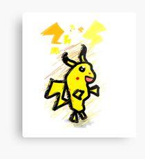 pikachu dude Metal Print