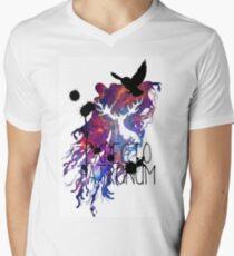 EXPECTO PATRONUM HEDWIG GALAXY Men's V-Neck T-Shirt