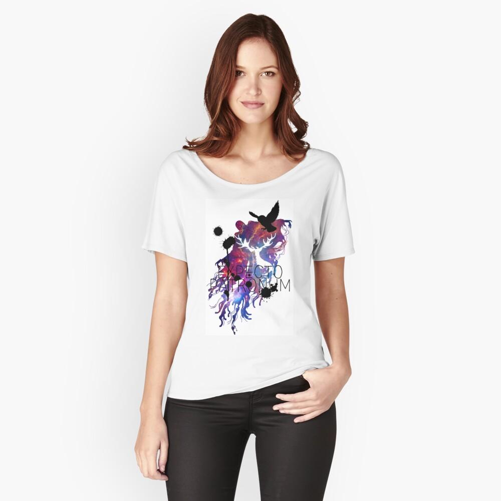 EXPECTO PATRONUM HEDWIG GALAXY 2 Camiseta ancha