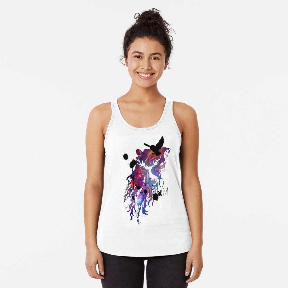 EXPECTO PATRONUM HEDWIG GALAXY 2 Camiseta con espalda nadadora