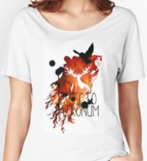 EXPECTO PATRONUM HEDWIG FIRE Women's Relaxed Fit T-Shirt