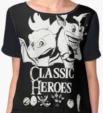 Classic Heroes Chiffon Top