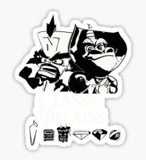 Classic Villains Sticker
