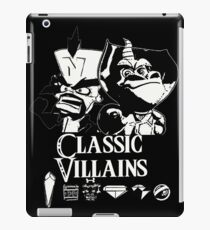 Classic Villains iPad Case/Skin