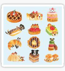 Puppy Pastries Sticker