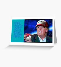 PALLET TOWN GREAT AGAIN! Greeting Card