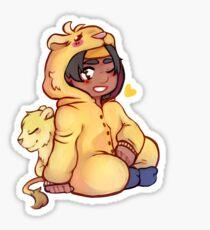 Hunk - Yellow Paladin Sticker