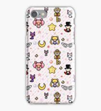 Sailor Moon family - Pink iPhone Case/Skin