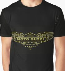 Moto Guzzi Motorcycles Italy Graphic T-Shirt
