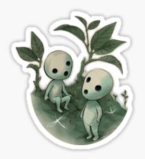 Natural History - Forest Spirit studies Sticker