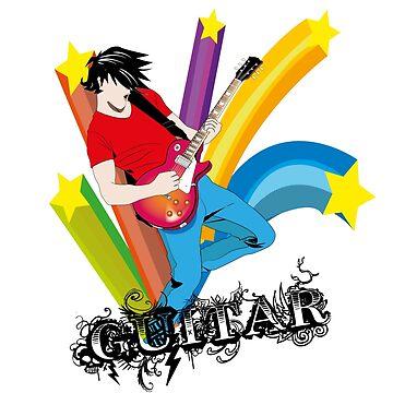 Guitar by charzz