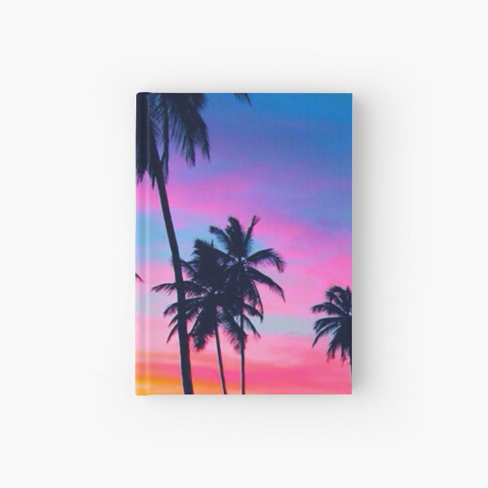 Sunset Hardcover Journal