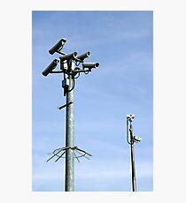 CCTV Security cameras Photographic Print