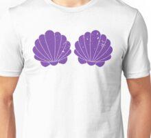 Purple Mermaid Shells Unisex T-Shirt
