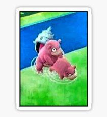Pokemon Go Bang SlowBro Slowpoke Meme Sticker