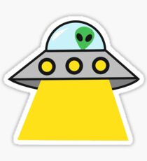 alien invasion!! Sticker