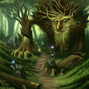 Deep In The Woods by Iceaegis