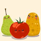 Funny Fruits Fun Pack 2 by Liron Peer