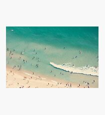 beach love II - Nazare Photographic Print
