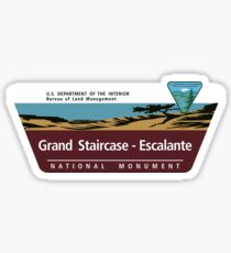 Grand Staircase-Escalante National Monument Sign, Utah Sticker