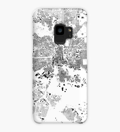 Baltimore Map Schwarzplan Only Buildings Urban Plan Case/Skin for Samsung Galaxy