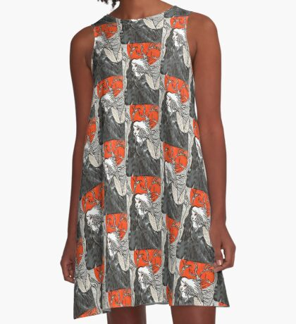 Witch In The Woods A-Line Dress