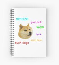 Doge Spiral Notebook