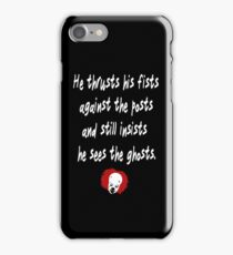 He Thrusts his Fists iPhone Case/Skin