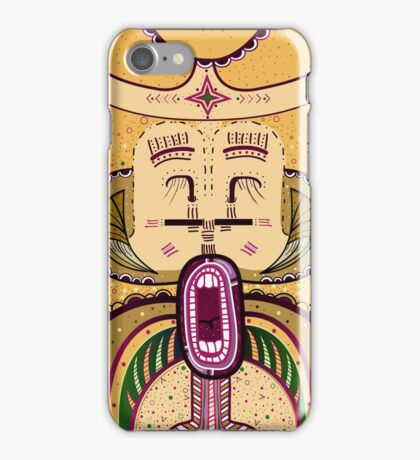 Hangry Hungry Food Goddess iPhone Case/Skin