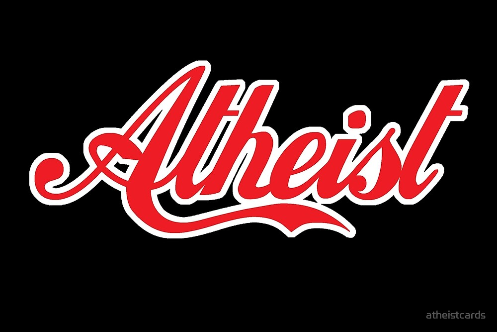 Atheist 'Coke' Design (any background) by atheistcards