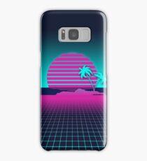 Neon Sunset Samsung Galaxy Case/Skin