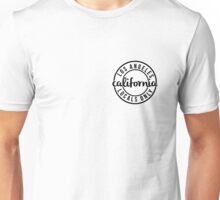 California Locals Only - White Unisex T-Shirt