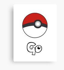 Pokemon Go - Go Canvas Print