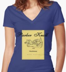 Parker Knoll x The Parent Trap Women's Fitted V-Neck T-Shirt