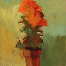 Summer marigold by Sally  Rosenbaum