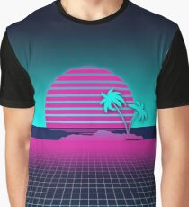 Neon Sunset Graphic T-Shirt
