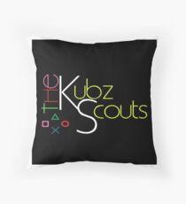 Kubz Scouts Throw Pillow