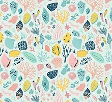 Colourful happy pattern for sea lovers! by NineHomes