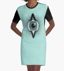 AV LOGO Graphic T-Shirt Dress