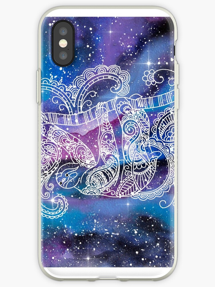factory authentic 5641a 8eda8 'Galaxy Themed Space Sloth' iPhone Case by KatiePacker
