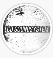LCD Soundsystem Sticker