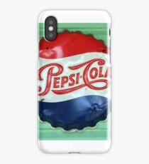 Pepsi Bottle Cap iPhone Case/Skin