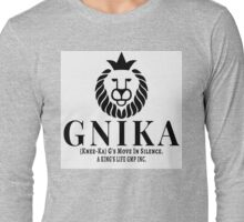 Gnika (knee-ka) aking Long Sleeve T-Shirt