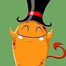 Halloween Monster 7 by Liron Peer